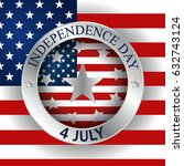 independence day | Shutterstock .eps vector #632743124