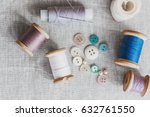 Sewing Kit. Thread  Needles An...