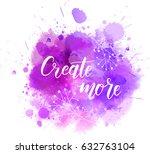 create more hand lettering...   Shutterstock .eps vector #632763104
