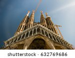 barcelona  spain   02.04.2017 ... | Shutterstock . vector #632769686