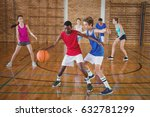 determined high school kids... | Shutterstock . vector #632781299