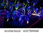 glasses of wine. glasses... | Shutterstock . vector #632784068