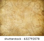 pirates treasure map background ... | Shutterstock . vector #632792078