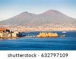 Naples  Vesuvius Volcano And...