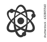atom molecule symbol   Shutterstock .eps vector #632805560