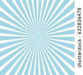 blue ice sunburst pattern...   Shutterstock .eps vector #632836478