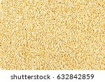 Popped Amaranth Grain Closeup...