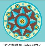 mandala   Shutterstock .eps vector #632865950