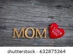 happy mother's day concept over ... | Shutterstock . vector #632875364
