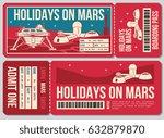 travel voucher vector ticket.... | Shutterstock .eps vector #632879870