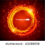 abstract technology circles... | Shutterstock .eps vector #63288058