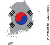 korea | Shutterstock .eps vector #632890598