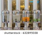 hotel breakfast area  cold... | Shutterstock . vector #632895038