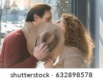 middle aged man and woman... | Shutterstock . vector #632898578