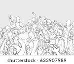 line art illustration of...   Shutterstock .eps vector #632907989