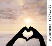 concept or conceptual heart... | Shutterstock . vector #632911430
