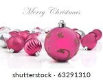 Pink Christmas Decorations On ...