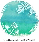 summer holidays and vacation... | Shutterstock .eps vector #632928500
