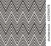 abstract zigzag parallel... | Shutterstock .eps vector #632950478
