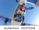 tandem master and tandem... | Shutterstock . vector #632970248