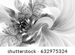 abstract fractal patterns and... | Shutterstock . vector #632975324