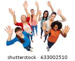 diversity  race  ethnicity and... | Shutterstock . vector #633002510