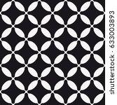 vector seamless pattern. modern ... | Shutterstock .eps vector #633003893