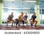 sport  fitness  weightlifting... | Shutterstock . vector #633004850