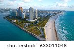 south beach miami sunrise... | Shutterstock . vector #633011048