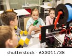 education  children  technology ... | Shutterstock . vector #633011738