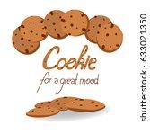 cookies vector illustration.... | Shutterstock .eps vector #633021350