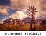 Az Desert Mountain Landscape...
