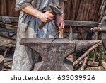 Medieval Blacksmith At Work...