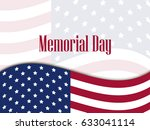 memorial day. national american ... | Shutterstock .eps vector #633041114