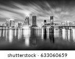 Night Skyline Of Jacksonville ...