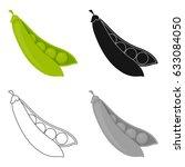 Peas Useful Vegetable. Peas In...