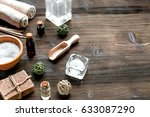 spa composition for body care... | Shutterstock . vector #633087290