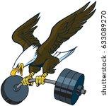 vector cartoon clip art... | Shutterstock .eps vector #633089270
