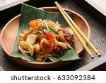 Char Kway Teow. Stir Fried Fla...