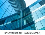detail glass building... | Shutterstock . vector #633106964