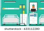 hospital illustration. | Shutterstock .eps vector #633112280