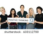 people holding and showing the... | Shutterstock . vector #633112700