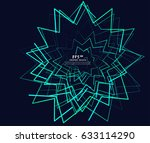 twists and turns of lines ...   Shutterstock .eps vector #633114290