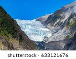 franz josef glacier  located in ...   Shutterstock . vector #633121676