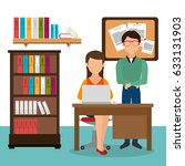 teamwork people gathered in the ... | Shutterstock .eps vector #633131903