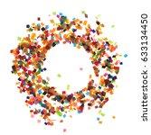 flat design element.abstract... | Shutterstock . vector #633134450