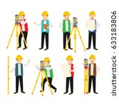 surveyor character design... | Shutterstock .eps vector #633183806