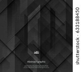 vector geometric abstract... | Shutterstock .eps vector #633188450