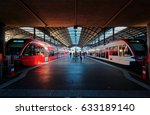 perspective view of a platform... | Shutterstock . vector #633189140