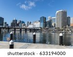 darling harbour  sydney ... | Shutterstock . vector #633194000